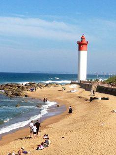 The famous Umhlanga lighthouse.