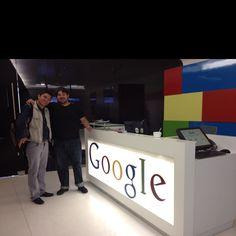 Charla súper amena con @RicardoBlanco al final de la visita a @googlemexico hablando de #MarchaYoSoy132