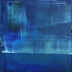 """Koen Lybaert; Oil 2014 Painting """"abstract N° 809"""""""