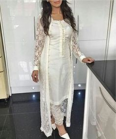 Buy best ethnic party wear long Anarkali Salwar suits / kameez dresses online shopping @ cash on delivery. Pakistani Outfits, Indian Outfits, Net Gowns Pakistani, Party Wear Indian Dresses, Eid Dresses, Indian Attire, Indian Wear, Indian Suits Punjabi, Ethnic Fashion