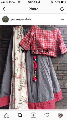 Indian Designer Outfits, Indian Outfits, Indian Attire, Lehnga Dress, Lehenga Blouse, Choli Designs, Lehenga Designs, Kerala Saree Blouse Designs, Chanya Choli