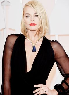 "kinginthenorths: ""Margot Robbie attends the 87th Annual Academy Awards at Hollywood & Highland Center on February 22, 2015 in Hollywood, California """