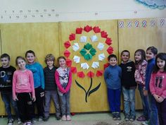 Class Decoration, Independence Day, Activities For Kids, Origami, Projects To Try, Spring, Frame, Blog, Crafts