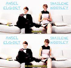 Shailene & Ansel