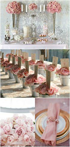 Wedding ● Reception Décor ● Pink