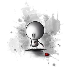 Manchmal sagt ein #Bild mehr als 1000 #Worte   #herz #schmerz #zerreißend #painting #creative #malen #girl #boy #love #sketch #knochiart #follow #like4like #tbt #sky #instagram #instamood #spruch #sprüche #sprüche4you and #me #gefühl #momente ✌️