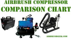 In this post I will try to give you a comparison chart of the airbrush compressors that you can find out there. I classified them by types, (diaphragm and piston compressors), and then for the … Airbrush, Vacuums, Chart, Vacuum Cleaners