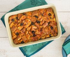 This breakfast treat has an Italian flair, plus it's creamy and soft, just like a bread pudding made with leftover bread.