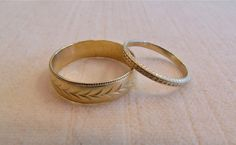 vintage wedding bands www.rebekahbrooks.com