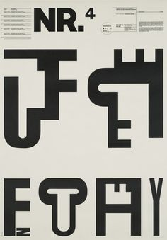 """Wolfgang Weingart (1941, Germany) is an internationally known graphic designer and typographer. His work is categorized as Swiss typography and he is credited as """"the father"""" of New Wave or Swiss Punk typography."""
