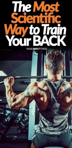 The Most Scientific Way to Train Your BACK - Are pullups really the best exercise for your back or are rows better? Do barbells work better than cables. Here is a breakdown of the best way to build a powerful and defined back. Lat Workout, Back And Bicep Workout, Biceps Workout, Gym Workouts, Workout Board, Workout Exercises, Workout Tips, Workout Videos, Building Biceps