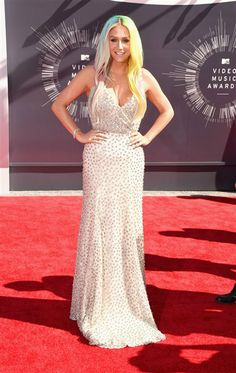 Kesha attends the MTV Video Music Awards at The Forum in Inglewood, Calif., on Aug. 24, 2014.