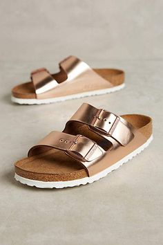 Been wanting to try Birkenstocks and I love the rose gold look of these but  nervous 11f55004df2