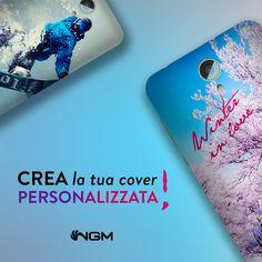 Da oggi Crea, Cambia e Condividi i tuoi momenti con #NGM. Visita il nostro sito e scopri come #personalizzare il tuo smartphone con i tuoi ricordi, le tue creazioni e le tue foto più belle!
