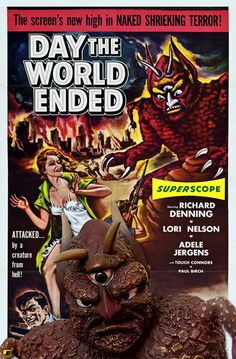 1950s Sci-Fi B-movies | Related Pictures poster 50s sci fi and b movies