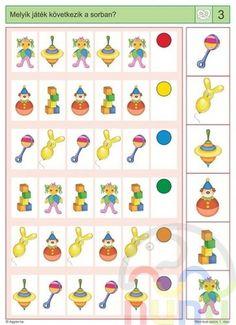 Logico feladatok Ovisoknak - Katus Csepeli - Picasa Webalbumok Daily Activities, Activities For Kids, Sequencing Cards, File Folder Activities, Preschool Math, Speech Therapy, Perception, Kids Learning, Worksheets