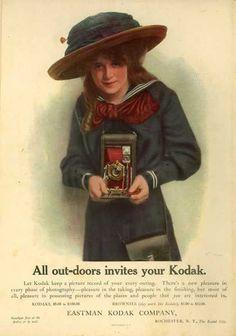 Kodak – All out-doors invites your Kodak (1911)