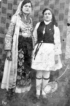 Νυφιάτικη φορεσιά Βοιωτίας Folk Costume, Costumes, Greeks, Lace Skirt, Memories, Traditional, Skirts, Style, Fashion