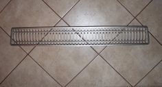 front grill stainless steel