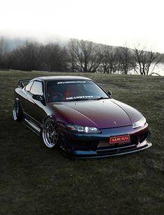 Midnight Purple Nissan Silvia S15, THE-LOWDOWN.com Feature