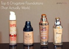 Top 6 Drugstore Foundations (That Actually Work) #Glossyfinds See more #beautytips on Bellashoot #beautyapp
