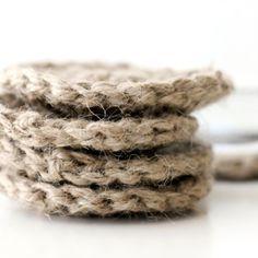 37 Remarkable Craft Ideas Using Jute Twine Feltmagnet Crochet