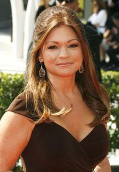 Valerie Bertinelli ~ I like this hair-do for a special occasion. Valerie  Bertinelli d7b31a67a