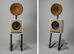 Conical Horn Speaker - Isaac Blankensmith