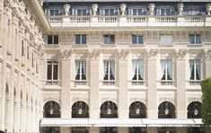 Palais-Royal History: A Peaceful Place for Parisians French Restaurants, Chicago Restaurants, Parisian Architecture, Palais Royal, Paris Cafe, Peaceful Places, City Maps, Tour Eiffel, Parisians