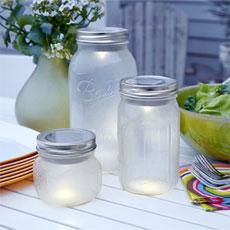 These charming solar-powered patio lanterns are a cinch to make from inexpensive supplies you can pick up at the home center. Here's how. | Photo: Wendell t. Webber | thisoldhouse.com