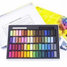 24/32/48/64 Lápis de Pintura Arte Desenho Set Cor de Giz Crayon Suave Pastels Escova Artigos de Papelaria para estudantes(China (Mainland))