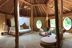 Eco bedroom at Soneva Kiri Resort, Koh Kood, Thailand