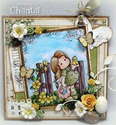 Cards made by Chantal: Happy Easter!