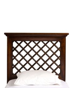 Hillsdale Furniture Kuri Headboard without Rails - Rubbed Black Finish - Full/Queen Twin Headboard, Wingback Headboard, Panel Headboard, Headboards For Beds, Distressed Wood Furniture, Headboard With Lights, Hillsdale Furniture, Trellis Design, How To Distress Wood
