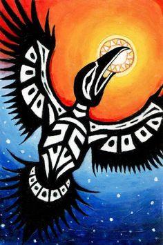 NativeNewsToday.com » » Native American Legends of How Raven Steals the…