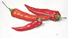 chilli peppers yet again by debra morris, via Flickr