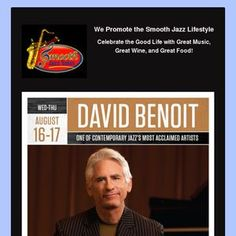 David Benoit  at Yoshi's Oakland, CA on August 16-17, 2017.