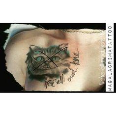 We're all mad here Were All Mad Here, Watercolor Tattoo, Tattoos, Tatuajes, Tattoo, Temp Tattoo, Tattos, Tattoo Designs