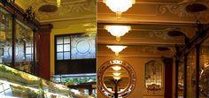 The 10 most beautiful cafés in Lisbon - via Lisbon Lux Magazine   Photo: Pastelaria Versailles, Lisboa #Portugal
