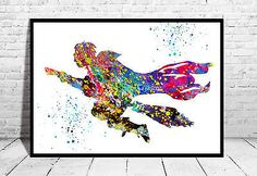 Harry-Potter-flying-Watercolor-art-poster-Print-68