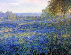 Fields of Bluebonnets - Robert Julian Onderdonk