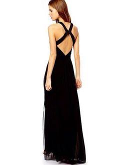 schwarzes Abendkleid Gr. M