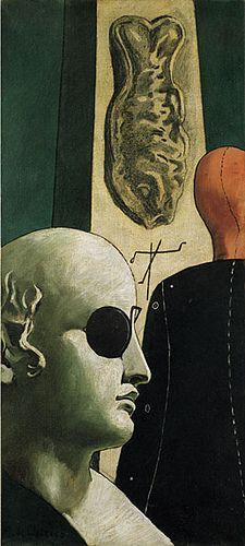 De Chirico, Giorgio - Nostalgie du poète - Collection Peggy Guggenheim, Venise