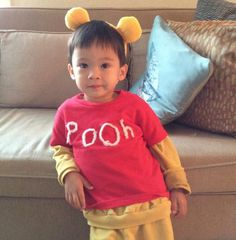 Love this Pooh costume