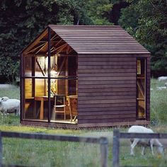 """WEBSTA @ bookofcabins - Nathalie De Leval, Paul's Shed by AHEC. Designed for the exhibition """"The Wish List"""" at the Victoria"""