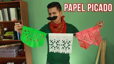 El Mejor Papel Picado + Instrucciones descargables | Fiestas Mexicanas