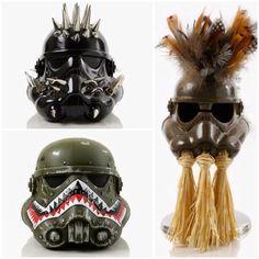 Creepy and Creative Custom Stormtrooper Helmets — GeekTyrant