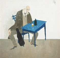 The Violonist, 1982 - Constantin Piliuta