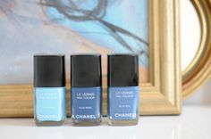 Chanel limited edition set. I love the middle one. It reminds me of a stormy sea.