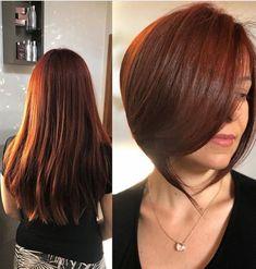 Long To Short Hair, Short Hair Cuts, Short Hair Styles, Dark Brunette, Long Shorts, Bob, Hair Beauty, Change, Fashion